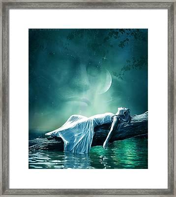 Evening Star Framed Print by Amalia Iuliana Chitulescu