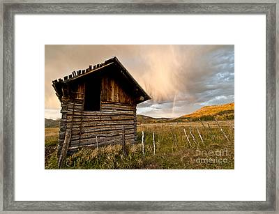 Evening Storm Framed Print by Jeff Kolker