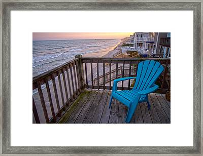 Evening Thoughts Framed Print by Betsy Knapp