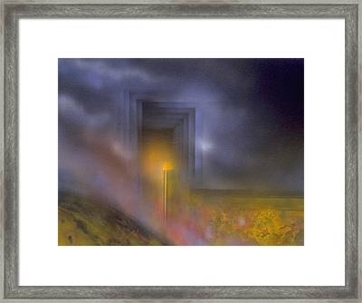 Event Horizon Framed Print by Michael Cook