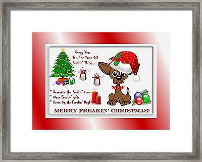 Every Year It's The Same Old Framed Print by Madeline  Allen - SmudgeArt