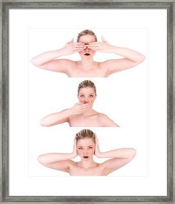 Evil 40 Framed Print by Studiodreas Photography