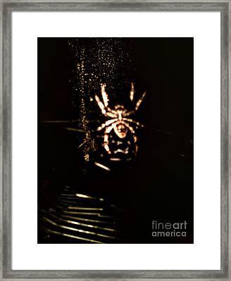 Evil Charlotte Framed Print by Jayme X