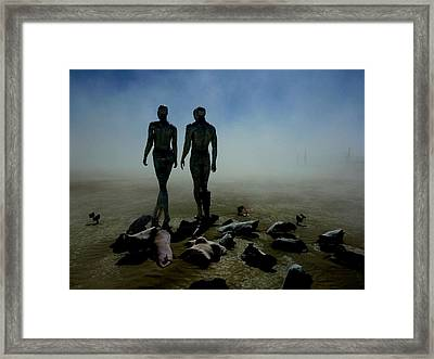 Exfoliated By Dust Framed Print by Chad Rice