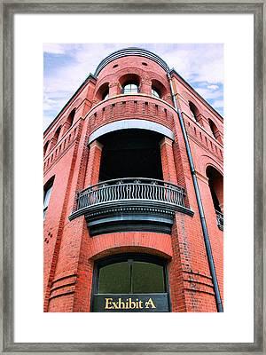 Exhibit A Framed Print by Kristin Elmquist