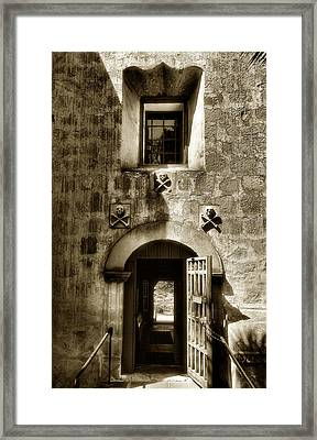 Exit From The Cemetery Framed Print by Steven Ainsworth