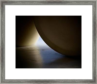 Exit Framed Print by Odd Jeppesen