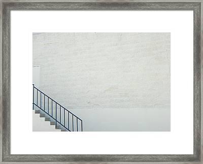 Exit Only Framed Print by Lenore Senior