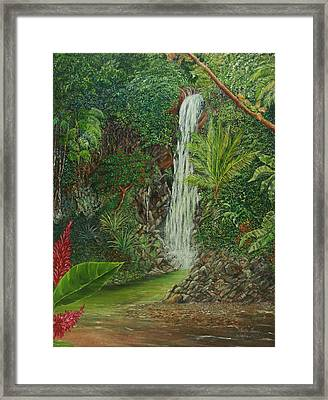 Exotic Daydream Framed Print by Trister Hosang