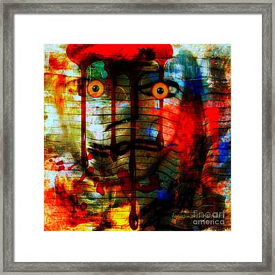Expectation And Trust Framed Print by Fania Simon
