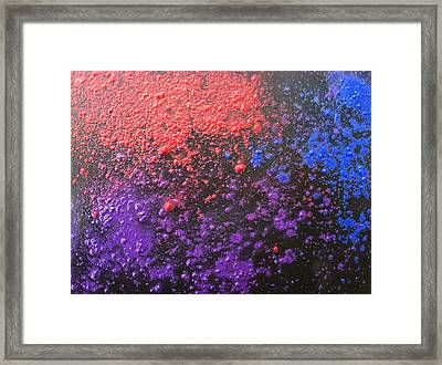 Experiement Framed Print by Tiffany King
