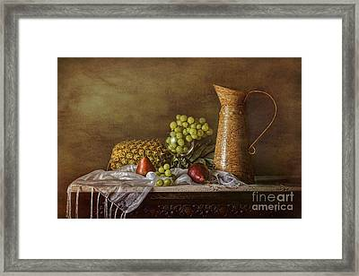 Exploring Still Life Framed Print by Sari Sauls
