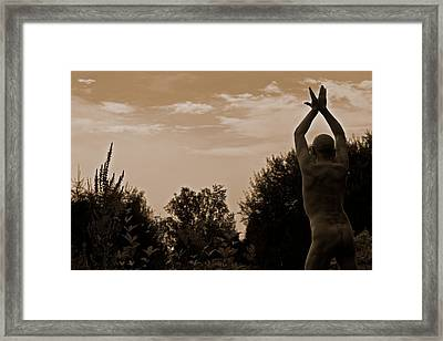 Expressed Freedom Framed Print by JC Titus-Horatio