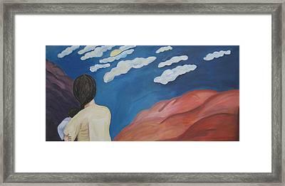 Expulsion Framed Print by Lorraine Toler