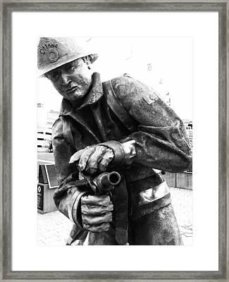 Extinguish Framed Print by Kevin Gilchrist