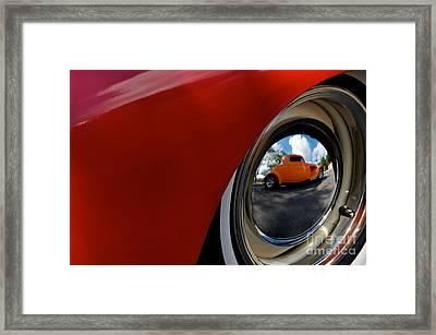 Eye Of Envy Framed Print by Sherry Davis