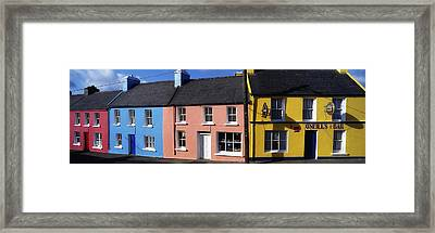Eyries Village, West Cork, Ireland Framed Print by The Irish Image Collection