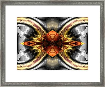 Faa Abstract 1 Framed Print by Claude McCoy