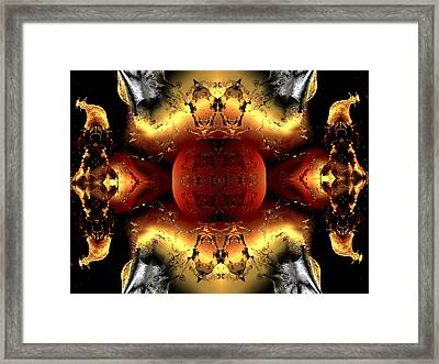 Faa Abstract 4 Framed Print by Claude McCoy