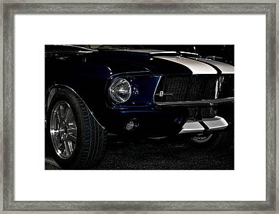 Face Of A Cobra Framed Print by DigiArt Diaries by Vicky B Fuller