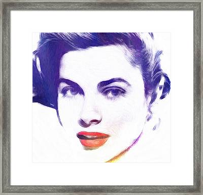 Face Of Beauty Framed Print by Steve K