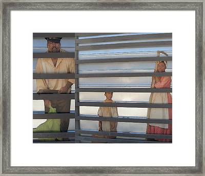 Faces Framed Print by Patricia Januszkiewicz