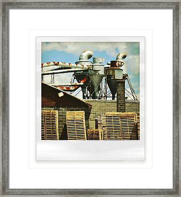 Factory Framed Print by HD Connelly