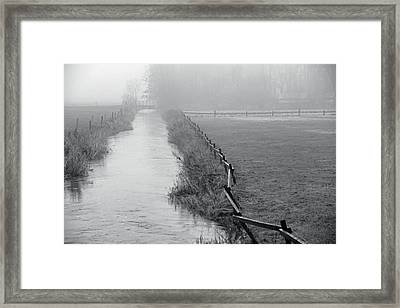 Fade To Silence Framed Print by Odd Jeppesen