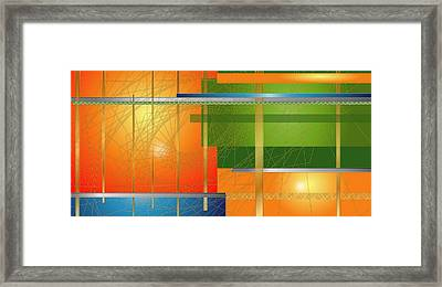 Failing Perspective Limited Edition Framed Print by Robin Lewis