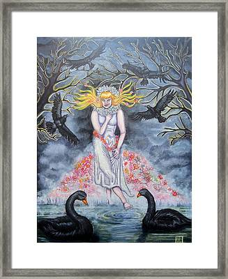 Fair Maiden Framed Print by Amiee Johnson