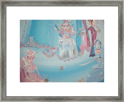 Fairy Godmother Convention Framed Print by Judith Desrosiers