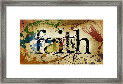 Faith Framed Print by Lauren Goia