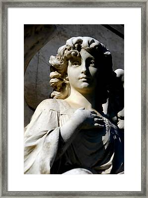 Faithful Framed Print by Phil Bongiorno