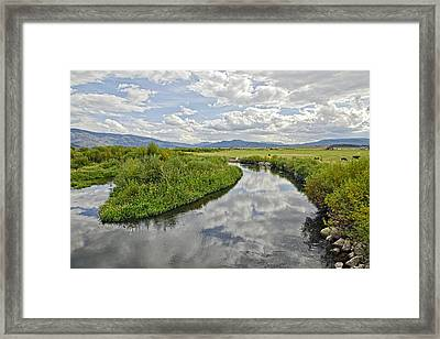 Fall Afternoon At Steamboat Springs Co. Framed Print by James Steele