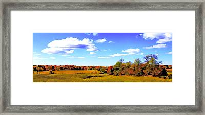 Fall Framed Print by Photography Art