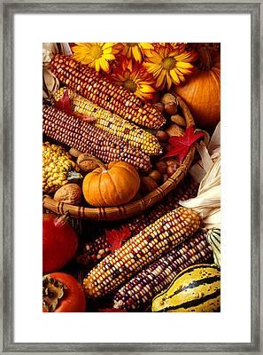 Fall Harvest Framed Print by Garry Gay