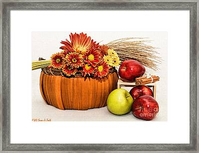 Fall Pleasures Framed Print by Susan Smith