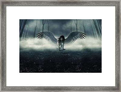 Fallen Angel Framed Print by Ryan Shaffer