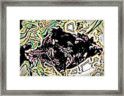 Fallen Through The Net Framed Print by Diane montana Jansson