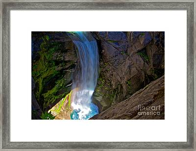 Falling Cristine Framed Print by Marcus Angeline