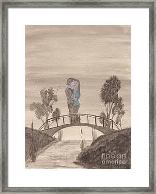 Falling... Framed Print by Robert Meszaros