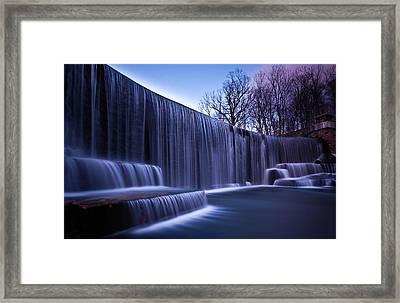 Falling Water Framed Print by Mihai Andritoiu, 2010