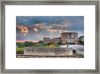 Falls Of The Ohio Interpretive Center I Framed Print by Steven Ainsworth