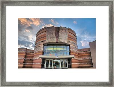 Falls Of The Ohio Interpretive Center II Framed Print by Steven Ainsworth