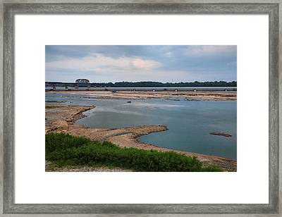 Falls Of The Ohio Framed Print by Steven Ainsworth