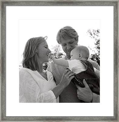 Family Portrait Framed Print by Michelle Quance
