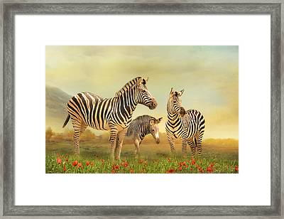 Family Ties Framed Print by Trudi Simmonds