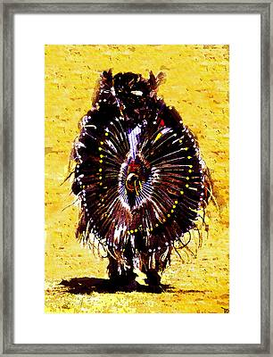 Fancy Dance Framed Print by David Lee Thompson