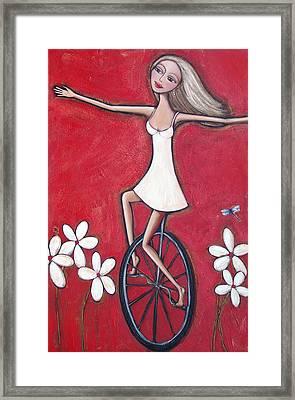 Fancy Free Framed Print by Denise Daffara