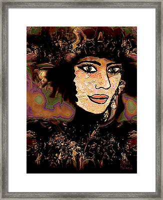 Fancy Hat Framed Print by Natalie Holland